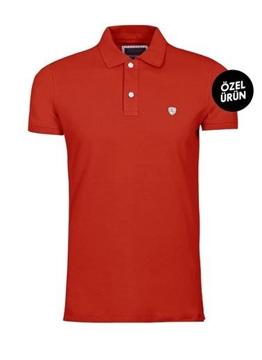Lufian Tişört Kırmızı